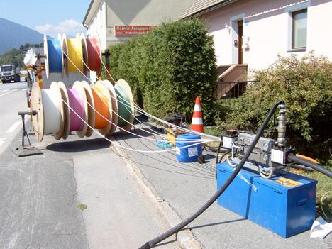 Glasfaserausbau bei A1: Neue Anschlüsse für 170.000 Haushalte von Pinkafeld im Burgenland bis Doren in Vorarlberg (Foto: A1)
