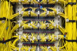 DE-CIX Apollon Infrastruktur, Patchpanel (Foto: DE-CIX)
