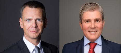 Verstärkung für Deutsche Glasfaser: Raimund Winkler (l.) und Jochen Mogalle (r.) ergänzen das Team der Geschäftsführung (Foto: Deutsche Glasfaser)