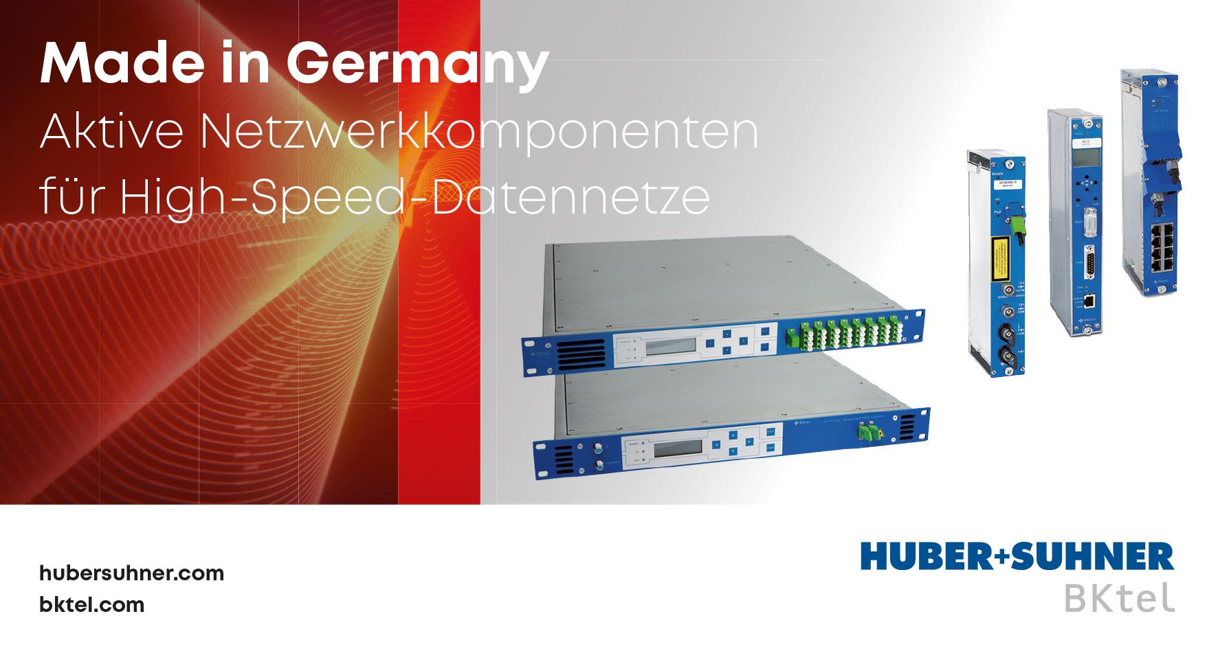Aktive Netzwerkkomponenten für High-Speed-Datennetze