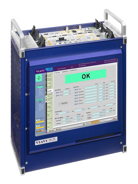 Das VIAVI 800G FLEX DCO Modul bietet eine Vielzahl von kritischen Testmöglichkeiten, die Hersteller benötigen, um steckbare digitale kohärente optische Module zu entwickeln und zu validieren (Foto: VIAVI)